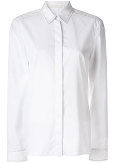 Dion Lee pin stitch detail shirt