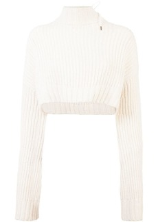 Dion Lee Aviation oversized chunky sweater