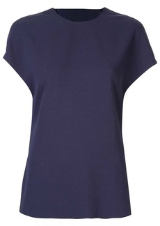 Dion Lee Corrugated pleated back T-shirt