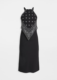 Dion Lee Bandana Bias Slip Dress