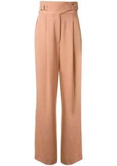 Dion Lee drape Interlock trousers