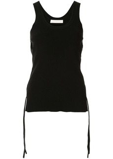 Dion Lee fitted cut-out top