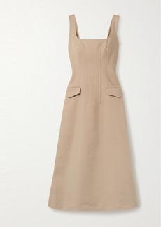 Dion Lee Frame Cotton-blend Midi Dress
