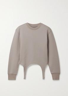 Dion Lee Garter Cotton Sweatshirt