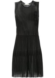 Dion Lee godet pleat mini dress