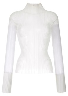 Dion Lee Opacity pleat top