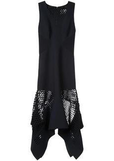 Dion Lee perf contour drape dress