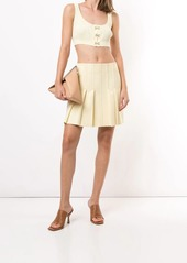 Dion Lee pleated design shorts