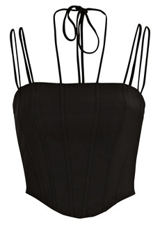 Dion Lee Rouleau Suspended Corset Top