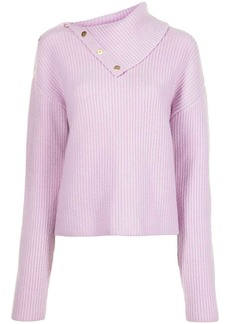 Dion Lee snap button knitted jumper