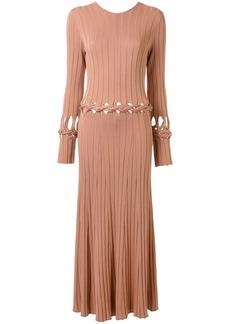 Dion Lee V-back braided dress