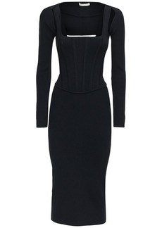 Dion Lee Viscose Blend Corset Dress