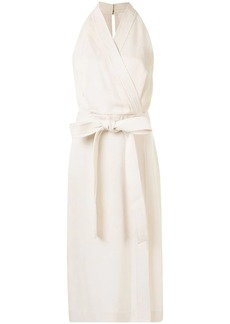 Dion Lee waist-tied wrap dress