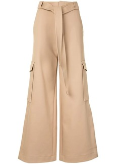 Dion Lee wide-leg cargo trousers