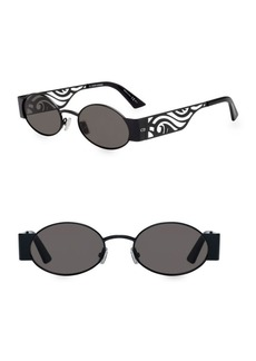 DIOR HOMME 51MM Round Rave Sunglasses