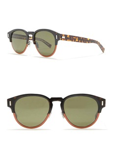 DIOR HOMME 52mm Oval Sunglasses