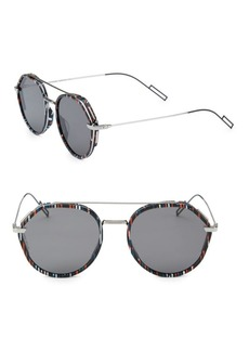 DIOR HOMME 53MM Aviator Sunglasses