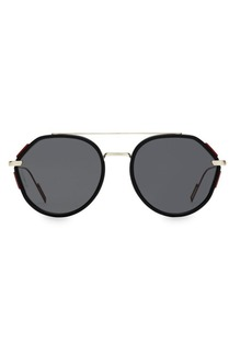 Christian Dior 53MM Oval Modified Sunglasses
