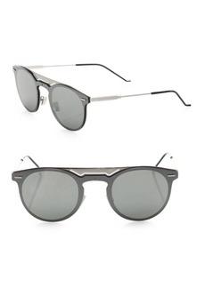 DIOR HOMME 99MM Round Techno Sunglasses