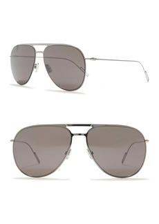 DIOR HOMME Aviator 59mm Sunglasses