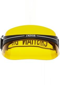 DIOR HOMME Black & Yellow DiorClub1 Visor