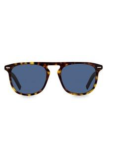 Christian Dior Black Tie 52MM Square Sunglasses