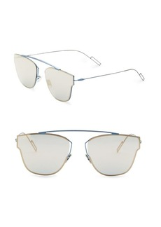 DIOR HOMME 0204S 57MM Mirror Sunglasses