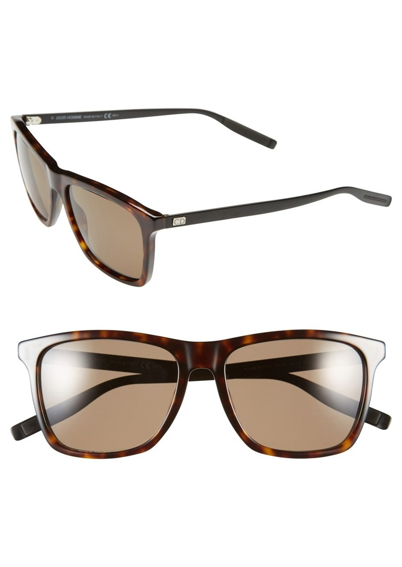 Dior Homme '177S' 55mm Polarized Sunglasses