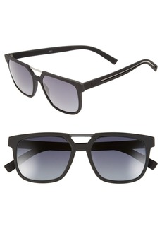 Dior Homme '220S' 55mm Sunglasses