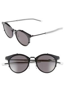 Christian Dior Dior 48mm Round Sunglasses