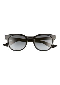 Dior Homme 51mm Round Sunglasses