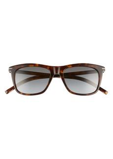 Dior Homme 52mm Retro Rectangular Sunglasses