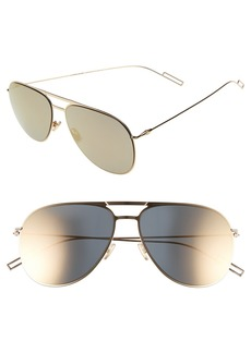 Christian Dior Dior 59mm Aviator Sunglasses