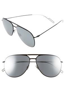 Christian Dior Dior Homme 59mm Aviator Sunglasses