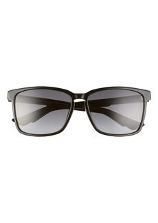 Dior Homme 59mm Polarized Square Sunglasses