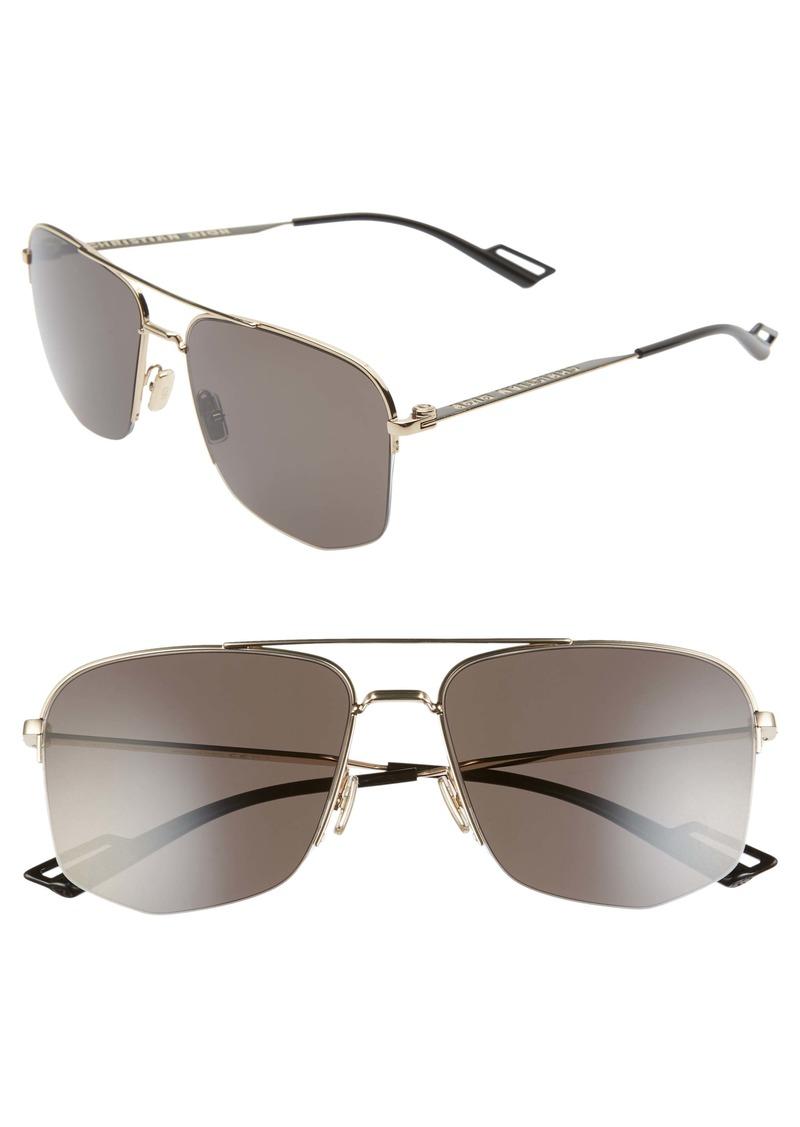 Christian Dior Dior 60mm Navigator Sunglasses