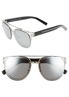 Christian Dior Dior Homme Black Tie 56mm Sunglasses