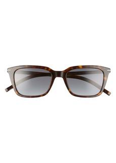 Dior Homme Blacktie 53mm Polarized Square Sunglasses