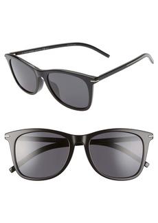 Dior Homme Blacktie 55mm Polarized Square Sunglasses