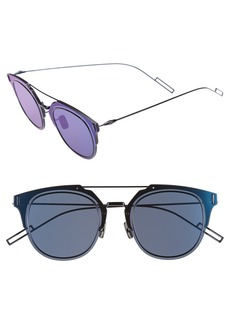 DIOR HOMME Dior 'Composit 1.0S' 62mm Metal Shield Sunglasses