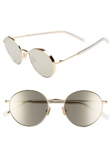 DIOR HOMME Dior Edgy 52mm Sunglasses