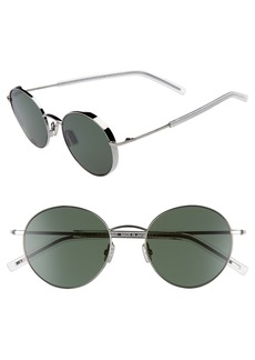 Dior Homme Edgy 52mm Sunglasses