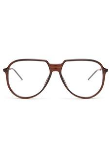 Dior Homme Sunglasses Aviator acetate glasses