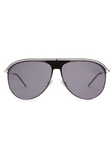 Dior Homme Sunglasses Aviator metal sunglasses