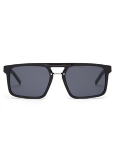 Dior Homme Sunglasses Black Tie aviator acetate sunglasses