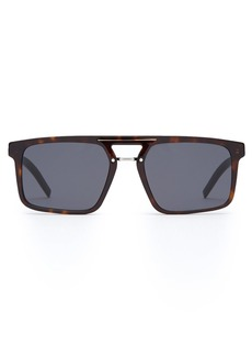 Dior Homme Sunglasses Black Tie square tortoiseshell-acetate sunglasses