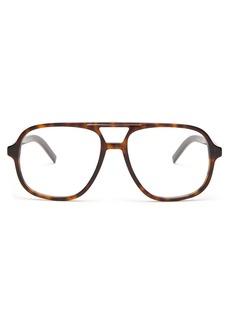 Dior Homme Sunglasses D-frame acetate glasses