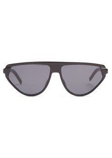 Dior Homme Sunglasses Triangle acetate sunglasses