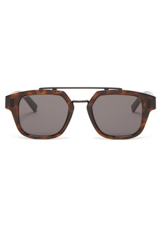 Dior Homme Sunglasses DiorFraction1 acetate and metal sunglasses