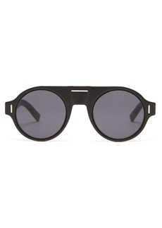 Dior Homme Sunglasses DiorFraction2 round acetate sunglasses